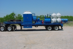 Frac Water Heater Trailers