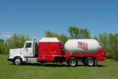 Frac Water Heater Trucks